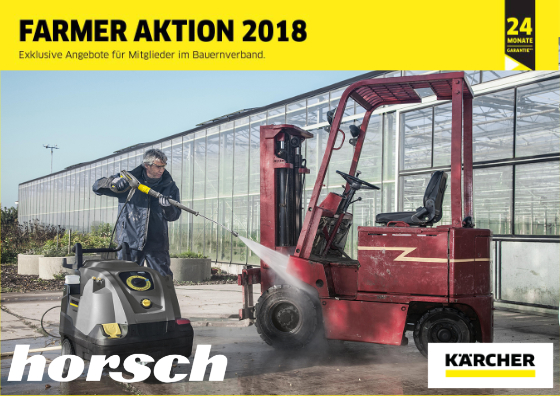 Farmer Aktion 2018 Horsch Land Und Gartentechnik